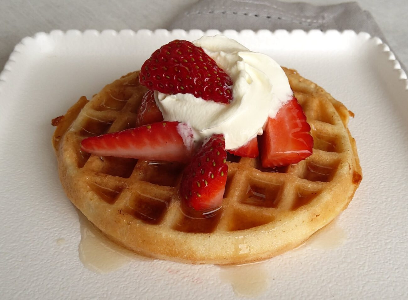 Picture of chaffle