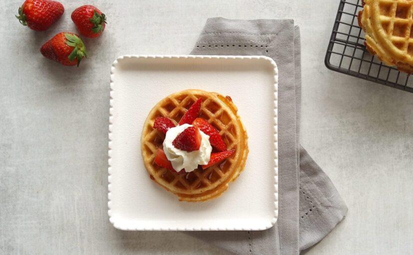 Sweet Keto Chaffle Waffles